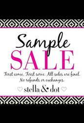 Thank you for you order!  Now it's time to shop the Exclusive Sample Sale.