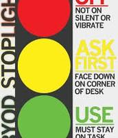 BYOD Stoplight Poster