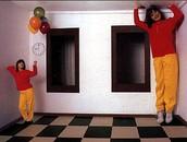 Illusioni ottiche: la stanza di Ames