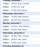 Required Live Classes (RLC)