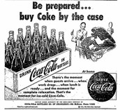 Coca Cola Newspaper ad
