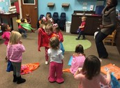 Music class with dancing.
