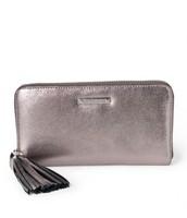 Mercer Zip Wallet - Pewter Metallic 50% off - Now $64!