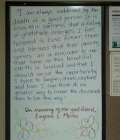 In Memory of Eugene L. Mena
