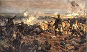 Canadian troops at the Second Battle of Ypres, 1915
