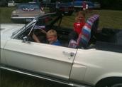 Mason and Camden Kolby cruising in Round Top, Texas!!