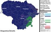 Ethic Map of Latvia