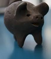 Ceramic Pig