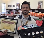 Zeshan Khan - March Staff Member of the Month