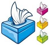 Kindergarten need donations of tissues.