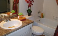beautiful granite style counter tops