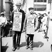 People in The Great Depression