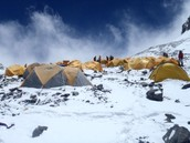 Camp 4 at Mount Everest