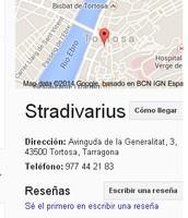 L'únic bo que té en tema SEO es que esta situat al google maps