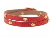 Hudson Wrap Bracelet - Red