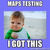 MAPS Testing Schedule