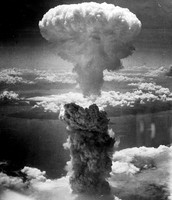 The Atom Bomb that went off at Hiroshima.