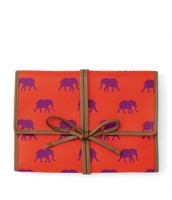Elephant jewelry Roll $18.00