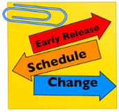 Next Early Release Day - Oct. 28