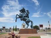 Statue Of  Juan De Onate