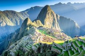 The beautiful michu picchu, the Incas City paradise.
