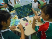 Starry Night pictures - Van Goghs in the making