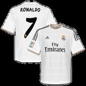 Ronaldo's jersey