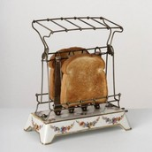 The first toaster