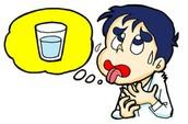 tener sed