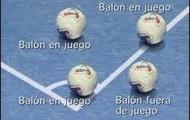 Regla 9.- Balón en juego o fuera de juego