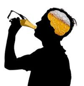 Drinking goes straight to the head.