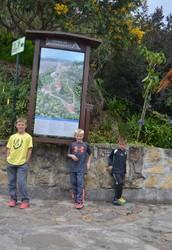 Trails on Monserrate