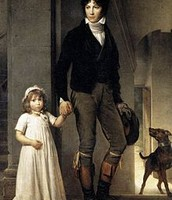 The painting of Jean-Baptiste Isabey