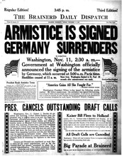 October 1918 - The War Comes To An End