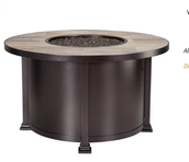 "OW LEE SANTORINI 42"" Chat Table/Fire Pit"