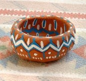 Third Grade Southwest Native American Pinch Pot