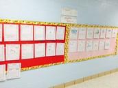 1st Grade Student Writing