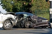 the result of someone texting and driving