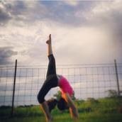 Me doing a Gymnastics Pose