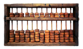 2. Find a picture of the following machines; Abacus Binary System
