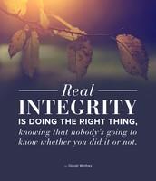 MCS H.E.R.O. Trait:  Integrity