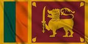 Sri Lanka's flag