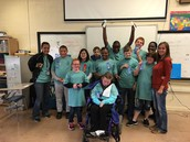 WAY TO GO - AMS SPECIAL OLYMPICS PARTICIPANTS