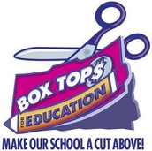 Boxtops for Education can continue to be sent into the office or brought to outings.
