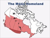 where did the metis live in Canada