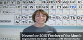 Teacher of the Month for January- Formative Assessment