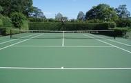 Tennis court .