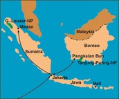 Sumatra and Borneo in south east china