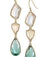Pippa earrings green