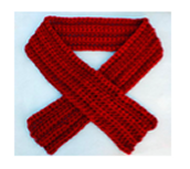 Knit or crochet Scarf